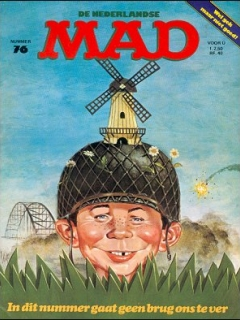Go to MAD Magazine #76 • Netherlands • 1st Edition