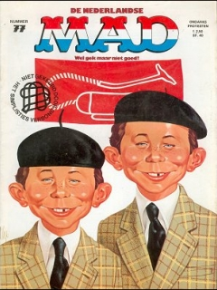 Go to MAD Magazine #77 • Netherlands • 1st Edition