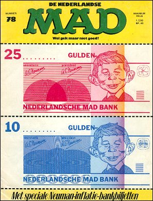 MAD Magazine #78 • Netherlands • 1st Edition