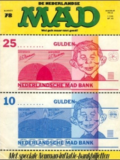 Go to MAD Magazine #78 • Netherlands • 1st Edition