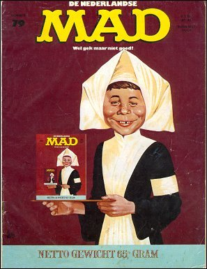 MAD Magazine #79 • Netherlands • 1st Edition
