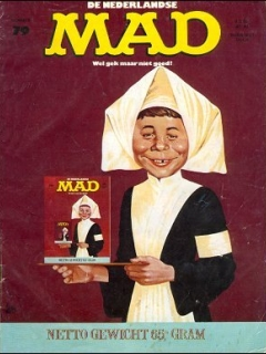 Go to MAD Magazine #79 • Netherlands • 1st Edition