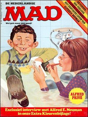 MAD Magazine #80 • Netherlands • 1st Edition