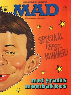 Go to MAD Magazine #81 • Netherlands • 1st Edition