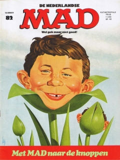 Go to MAD Magazine #82 • Netherlands • 1st Edition