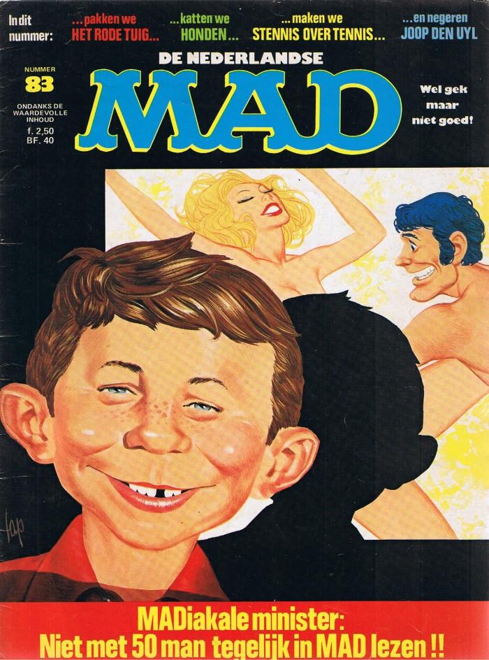 MAD Magazine #83 • Netherlands • 1st Edition