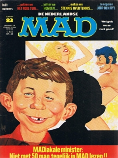 Go to MAD Magazine #83 • Netherlands • 1st Edition