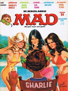 Go to MAD Magazine #84 • Netherlands • 1st Edition