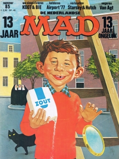 Go to MAD Magazine #85 • Netherlands • 1st Edition