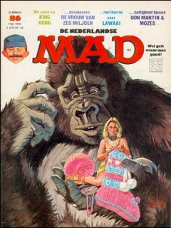 Go to MAD Magazine #86 • Netherlands • 1st Edition