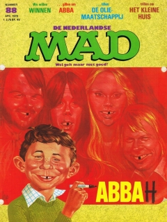 Go to MAD Magazine #88 • Netherlands • 1st Edition
