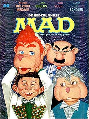 MAD Magazine #89 • Netherlands • 1st Edition