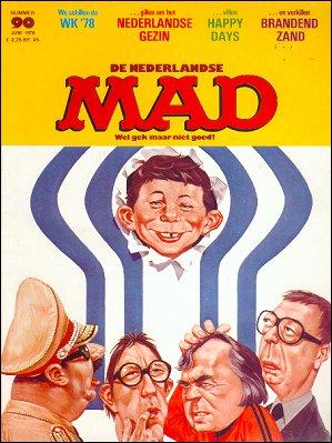 MAD Magazine #90 • Netherlands • 1st Edition