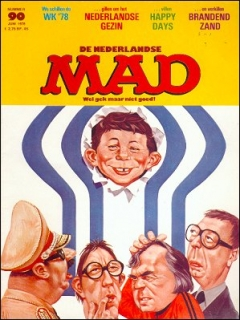 Go to MAD Magazine #90 • Netherlands • 1st Edition
