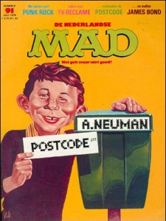 Go to MAD Magazine #91 • Netherlands • 1st Edition