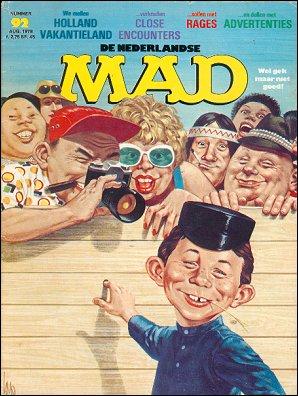 MAD Magazine #92 • Netherlands • 1st Edition