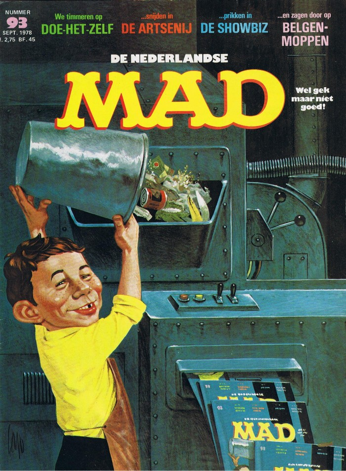 MAD Magazine #93 • Netherlands • 1st Edition
