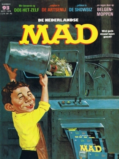 Go to MAD Magazine #93 • Netherlands • 1st Edition