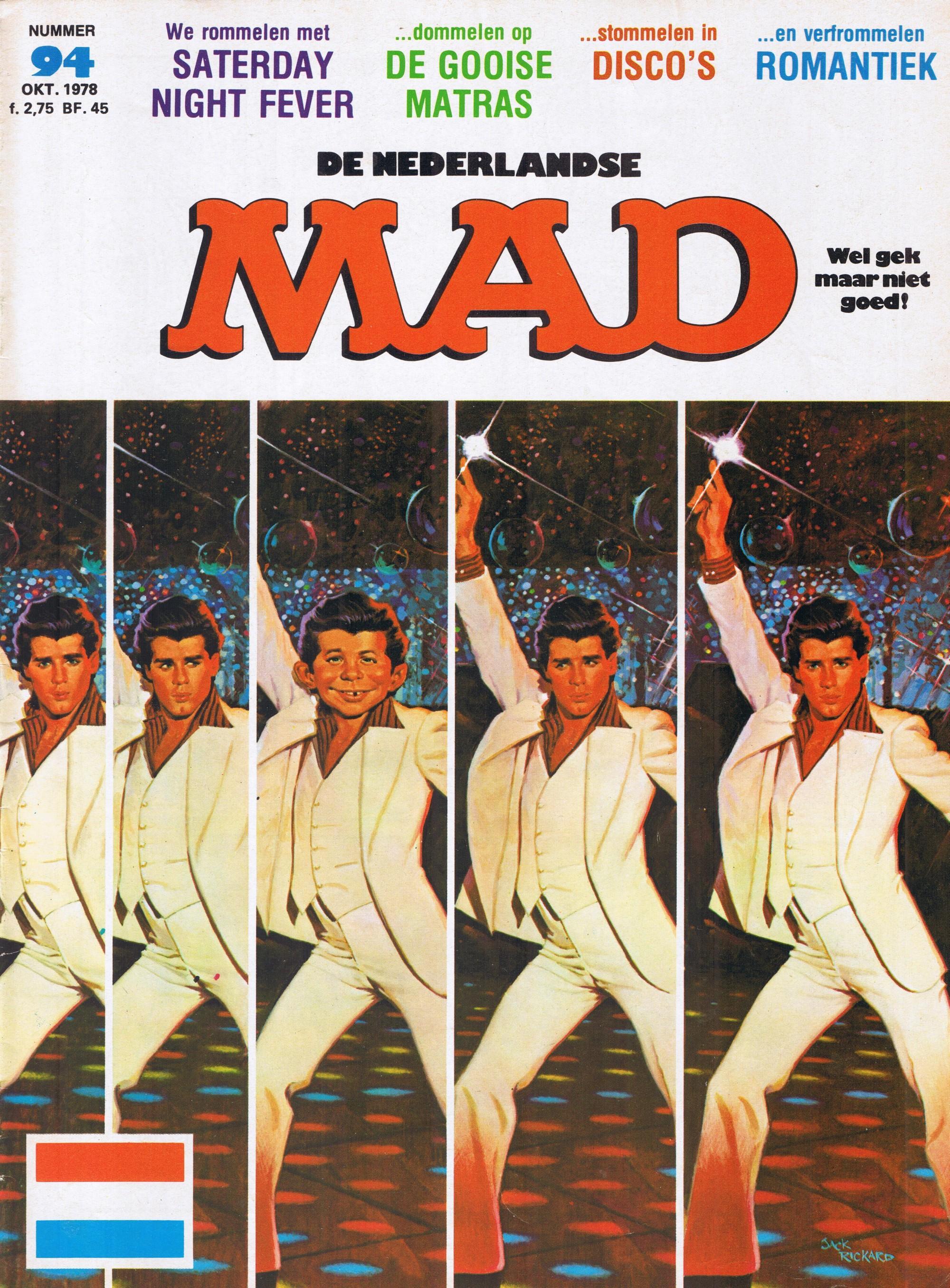 MAD Magazine #94 • Netherlands • 1st Edition