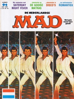 Go to MAD Magazine #94 • Netherlands • 1st Edition