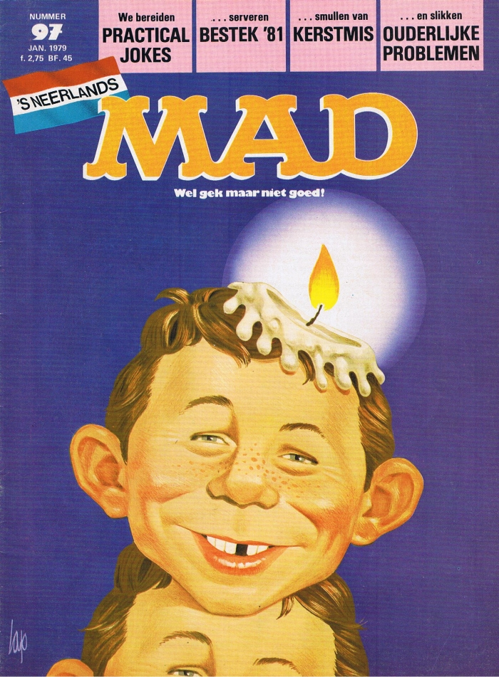 MAD Magazine #97 • Netherlands • 1st Edition