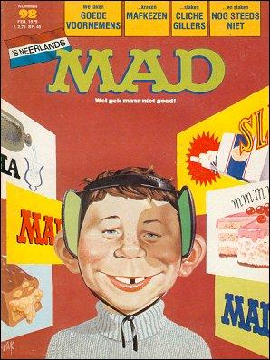 MAD Magazine #98 • Netherlands • 1st Edition