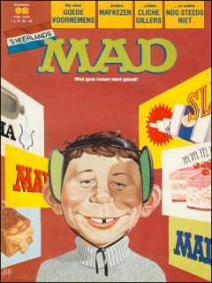 Go to MAD Magazine #98 • Netherlands • 1st Edition
