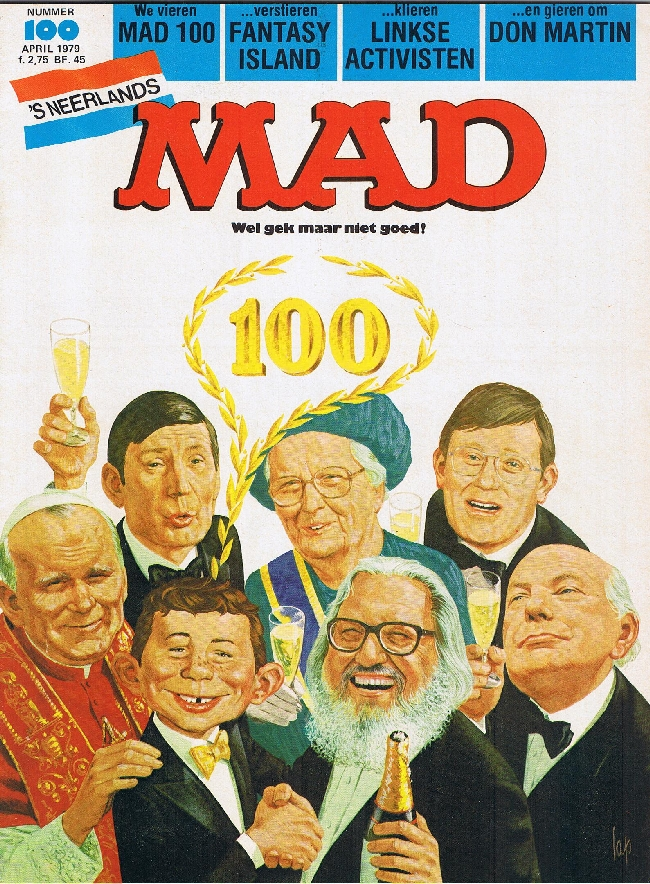 MAD Magazine #100 • Netherlands • 1st Edition