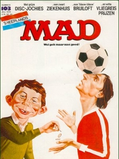 Go to MAD Magazine #103 • Netherlands • 1st Edition