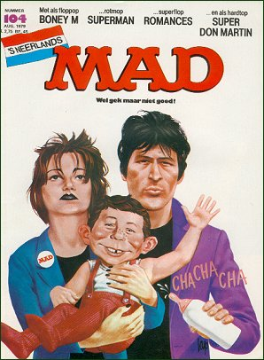 MAD Magazine #104 • Netherlands • 1st Edition