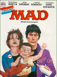 Go to MAD Magazine #104 • Netherlands • 1st Edition