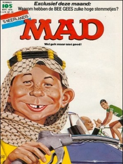 Go to MAD Magazine #105 • Netherlands • 1st Edition