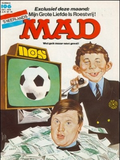Go to MAD Magazine #106 • Netherlands • 1st Edition