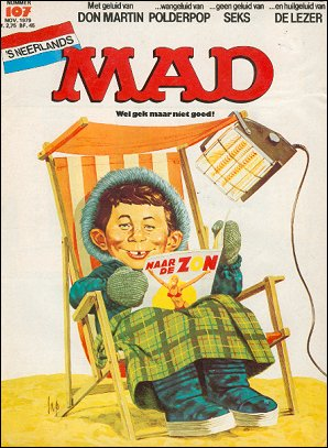 MAD Magazine #107 • Netherlands • 1st Edition