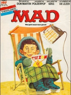 Go to MAD Magazine #107 • Netherlands • 1st Edition