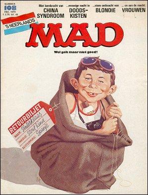 MAD Magazine #108 • Netherlands • 1st Edition