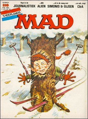 MAD Magazine #110 • Netherlands • 1st Edition