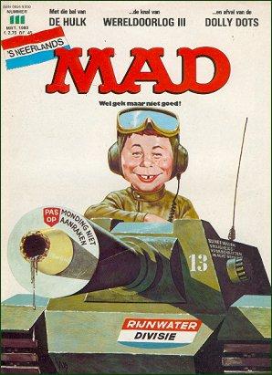 MAD Magazine #111 • Netherlands • 1st Edition