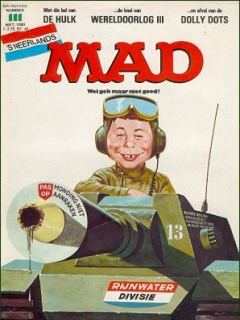 Go to MAD Magazine #111 • Netherlands • 1st Edition