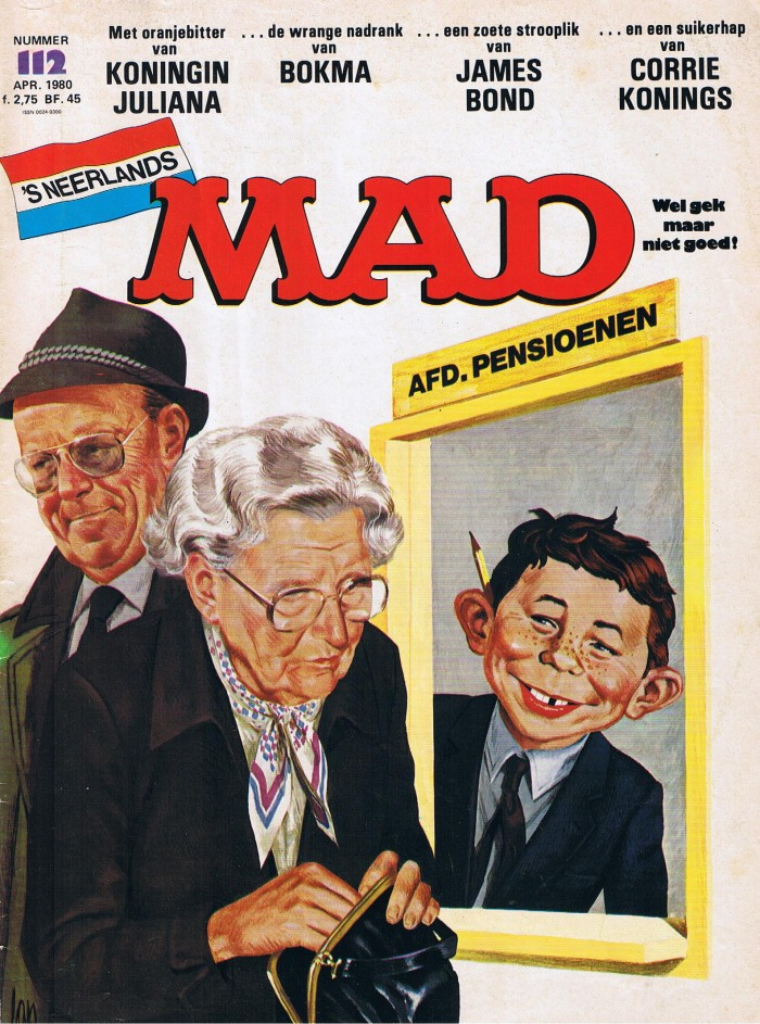 MAD Magazine #112 • Netherlands • 1st Edition