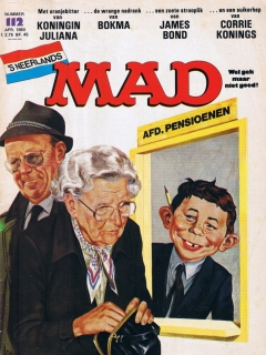 Go to MAD Magazine #112 • Netherlands • 1st Edition
