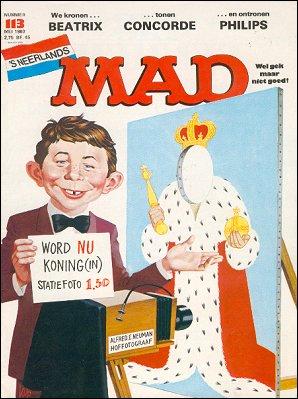 MAD Magazine #113 • Netherlands • 1st Edition