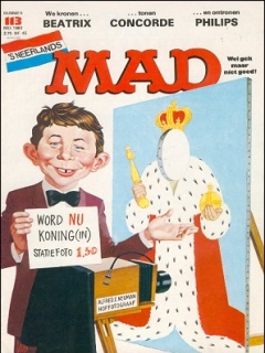Go to MAD Magazine #113 • Netherlands • 1st Edition