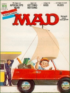 Go to MAD Magazine #114 • Netherlands • 1st Edition