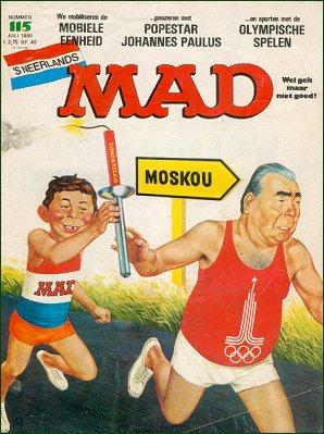 MAD Magazine #115 • Netherlands • 1st Edition