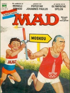 Go to MAD Magazine #115 • Netherlands • 1st Edition
