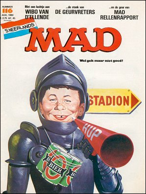 MAD Magazine #116 • Netherlands • 1st Edition