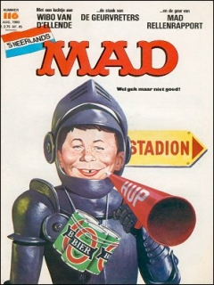 Go to MAD Magazine #116 • Netherlands • 1st Edition