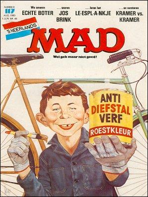MAD Magazine #117 • Netherlands • 1st Edition