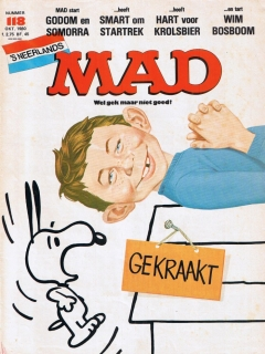 Go to MAD Magazine #118 • Netherlands • 1st Edition